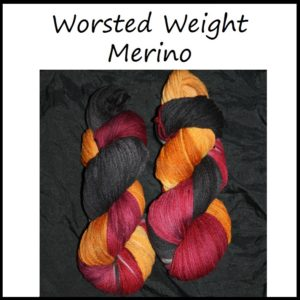 Worsted Weight Merino